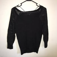 Black v neck long glittery sleeve Las Vegas, 89131