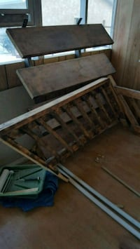 2 sets of stairs with hand rails Edmonton, T5G 1V6