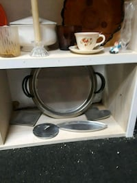 Pewter looking misc for 30.00 everything on shelf  Monrovia, 91016