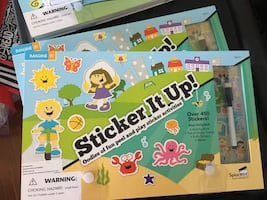 BNIB sticker art sets (set of 2)