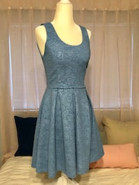 Soft blue cocktail dress - size small Coral Springs, 33065
