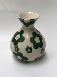 "Vintage/Retro Barbara Eigen Signed Vase.  One-of-a-Kind!  5-1/2"" Tall  Bloomington, 55438"