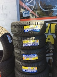 195/50R16 SET OF 4 TIRES ON SALE ⭐WE CARRY ALL MAJOR BRAND AND SIZE ⭐WE FINANCE NO CREDIT NEEDED  Union City, 94587