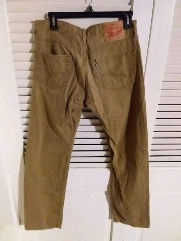 Levi's W30 L32 Brown Tan Khaki Pants Levi Strauss  1