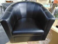 New Primo Tulip Tub Faux Leather Chair Vaughan, L4H