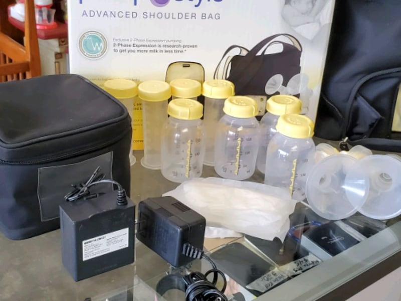 Medela maternity breast pump, $35 Each 7f3e5b56-b581-4f12-8bd5-5fad5996a71e