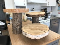Wooden Tier Dessert Holders  Kingston, K7M 4E2