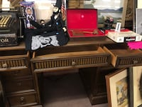 Vintage Wooden Executive Desk  Middletown, 17057