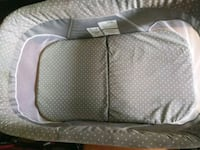 baby's gray and white bassinet San Jose, 95125