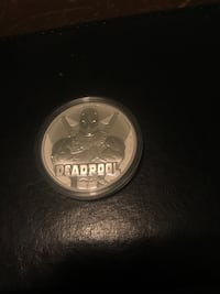 2018 1 ounce silver Deadpool coin  Laurel, 20724