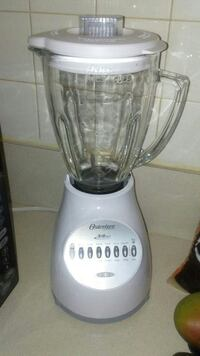 white osterizer electric blender