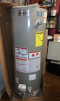 Propane hot water tank brand new