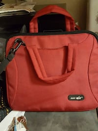 Red tablet bag (NO SHIPPING )