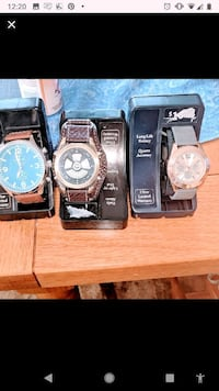 Lot of 3 watches they need batteries all NIP Barrington, 03825