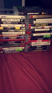 Assorted sony ps3  game London, N6B 2V6