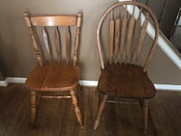two brown wooden windsor chairs Gaithersburg, 20879