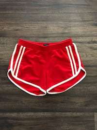women's red and white drawstring shorts Edmonton, T6H
