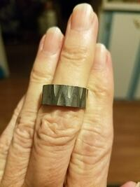 Silver stainless steel ring size 6.5 Salt Lake City, 84120