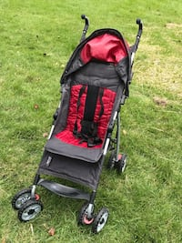 baby's black and red stroller Bethesda, 20814