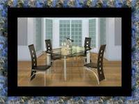 Glass dining table with 4 chairs District Heights, 20747