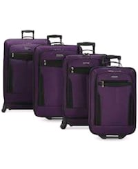 purple and black travel luggage West Chicago, 60185
