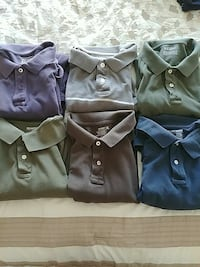 XL Short sleeve polo shirts (all 6) Round Lake, 60073