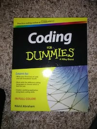 Coding For Dummies by Nikhil Abraham book Midland, 79703