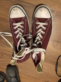 Maroon Converse Chucks  Falls Church, 22043