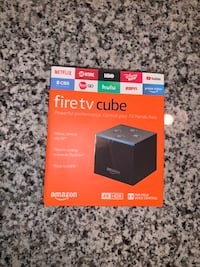 Brand New/ Never used - Amazon Fire TV Cube 16gb 2nd gen