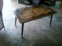 2 Hand carved German tables Augusta, 30909