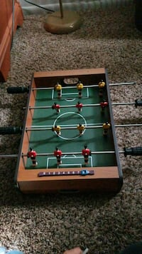 green and brown foosball table Anchorage, 99501