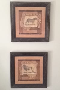two tiger and lion framed paintings Quinte West, K8R 1B8