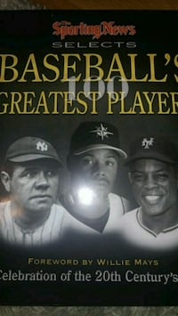 100 baseball' greatest players.