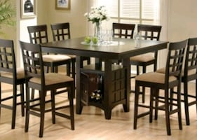 9pc counter dining set