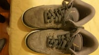 Suede grey youth Jordans size 6 Columbia, 21045