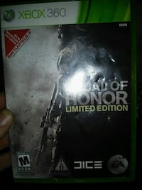 Medal of Honor Xbox 360 game case