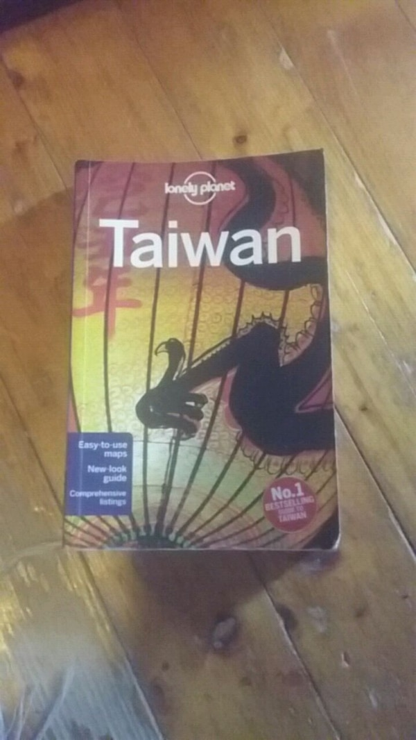 Lonely Planet Taiwan bok