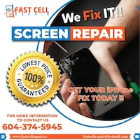 iPhone Screen Repair - Lowest Price Vancouver