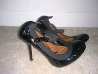 BCBG black patent leather Mary Jane's Alexandria, 22307