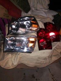 Headlights and taillights