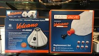 two Volcano humidifier boxes