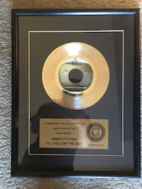 The Beatles Certified Gold Record Oklahoma City, 73127