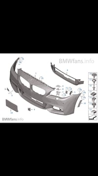 2011-2014 bmw f10 fenders and bumpers  Ajax, L1S 3R3