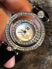 Elizabeth Taylor watch covered in Rhinstones w Mother if Pearl Face Rockville, 20851