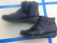 pair of black leather boots Citrus Heights, 95621