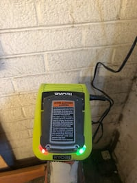 Ryobi charger and battery  Toronto, M4C 5L4