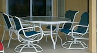round white metal table with two chairs Pembroke Pines, 33027