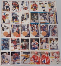 30 variety Hockey Cards... $5 Firm... Calgary