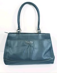 Teal Coach Ladies Handbag (Blue) South Riding, 20152