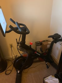 black and red stationary bike District Heights, 20747